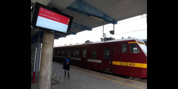 SNCB : Mons et Namur au ralenti - La DH