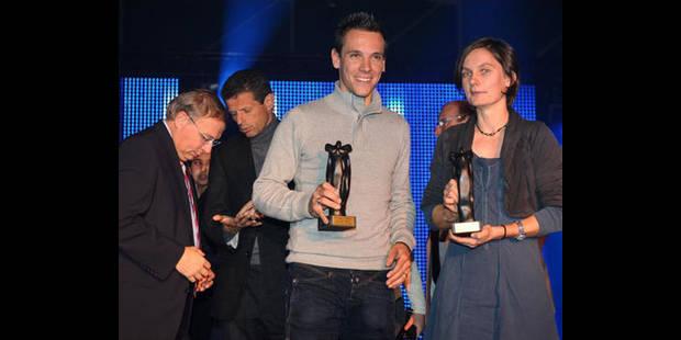 Elisabeth Davin et Gilbert reçoivent le Mérite sportif de la Communauté française - La DH