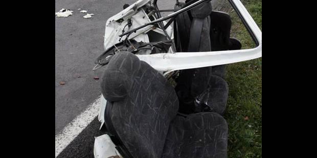 Grave accident de la route près de Sombreffe: cinq blessés, il y aurait un mort - La DH