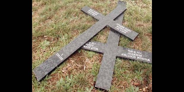 70 tombes saccagées - La DH