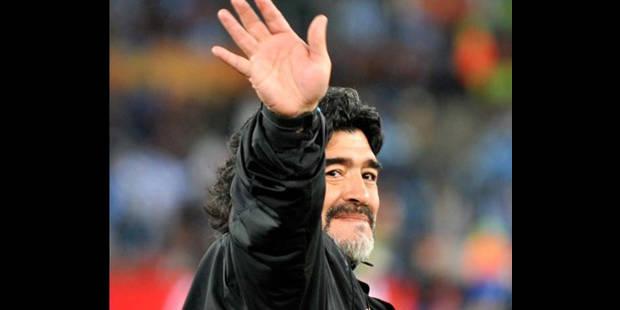 Diego Maradona aimerait entraîner en Angleterre - La DH