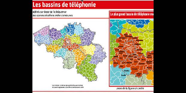 L'usage des GSM par  les Belges redessine Bruxelles!
