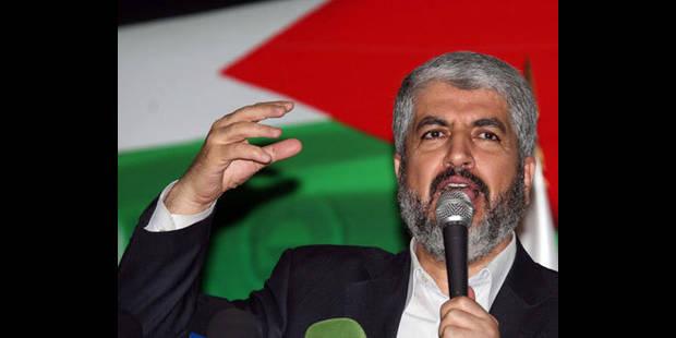 Le chef en exil du Hamas demande à Abbas de cesser de négocier avec Israël - La DH