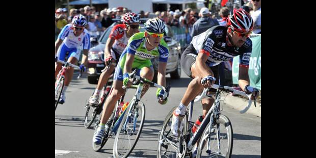 Pozzato et Cancellara, les rivaux de Gilbert - La DH