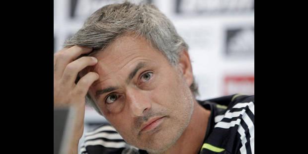 Pour Mourinho, le Barça est peut-être favorisé - La DH