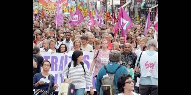 Grèves contre la réforme des retraites: la France au ralenti - La DH
