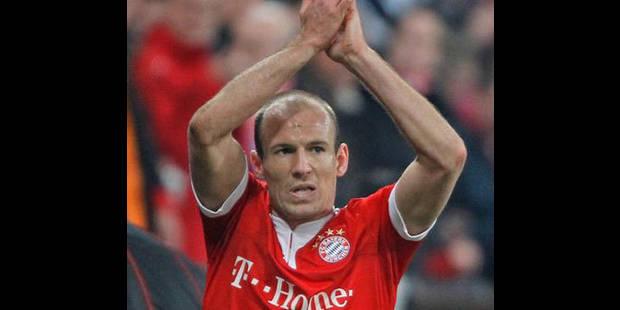 Bayern Munich: Robben pourrait manquer toute la phase aller