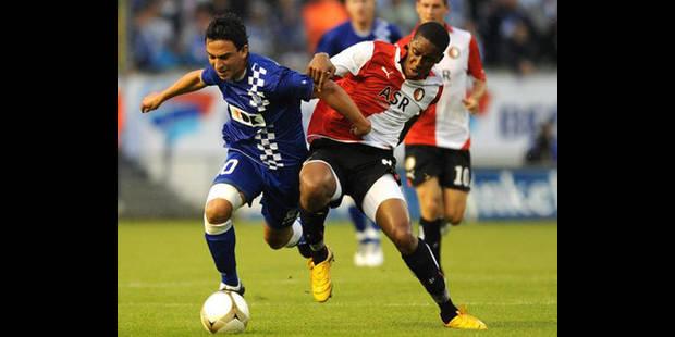 La Gantoise bat Feyenoord 2-0 en barrages retour et va en phase de groupes - La DH