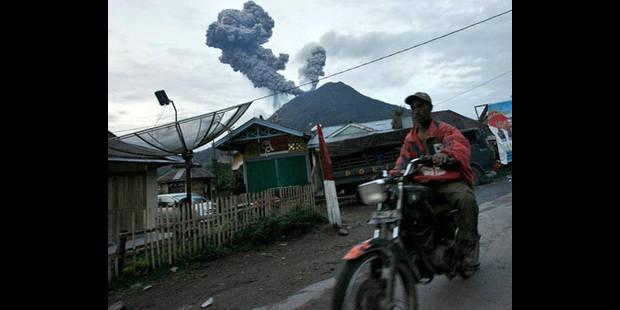 Le volcan Sinabung s'est réveillé - La DH