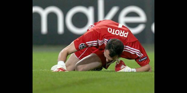 Anderlecht éliminé aux tirs au buts