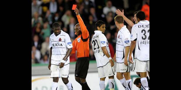Le FC Bruges accepte la suspension de 4 matches de Kouemaha