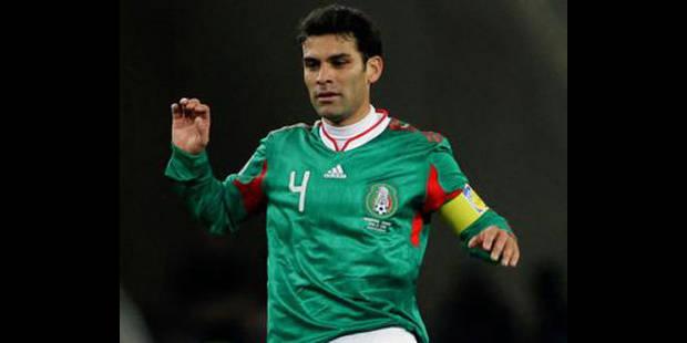 Le Mexicain Rafael Marquez quitte le FC Barcelone
