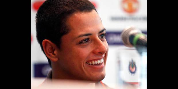 Le Mexicain Javier Hernandez vit son rêve avec Manchester - La DH