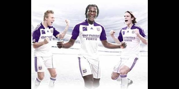 Et voici le nouveau maillot du Sporting d'Anderlecht !