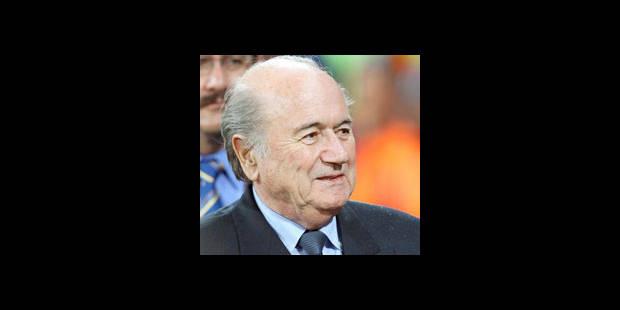 """Blatter: """"L'Afrique a prouvé qu'elle pouvait organiser"""" un Mondial"""