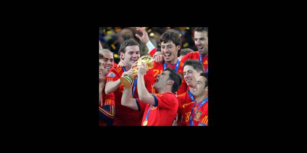 L'Espagne champion du monde le moins prolifique en buts de l'histoire