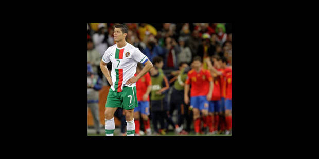 La Roja renvoie Ronaldo au pays