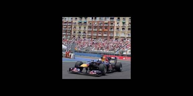 GP de Valence: Victoire de Vettel - La DH