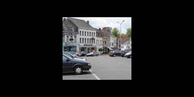 Fuite de gaz ma�tris�e � la Grand-place de P�ruwelz