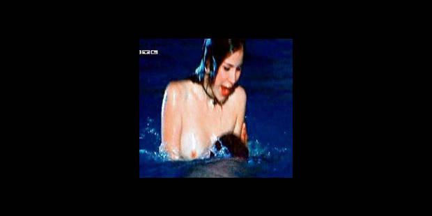 La gagnante de l'Eurovision nue!