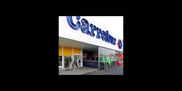 Carrefour a perdu 95 millions d'euros � cause des gr�ves