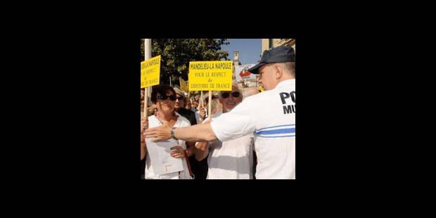 """Polémique """"Hors-la-loi"""" : plus d'un millier de manifestants à Cannes - La DH"""