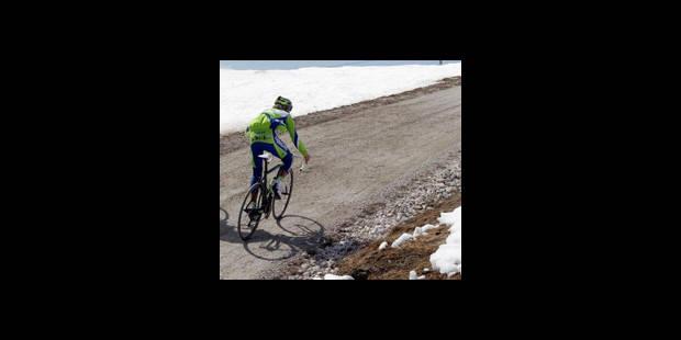 Dopage: Liquigas attend avec confiance les explications de Pellizotti