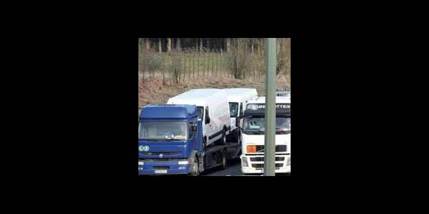 Un convoi de camions risque de perturber le trafic à Bruxelles ce mercredi - La DH