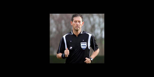 Frank De Bleeckere arbitre de Barcelone-Inter - La DH