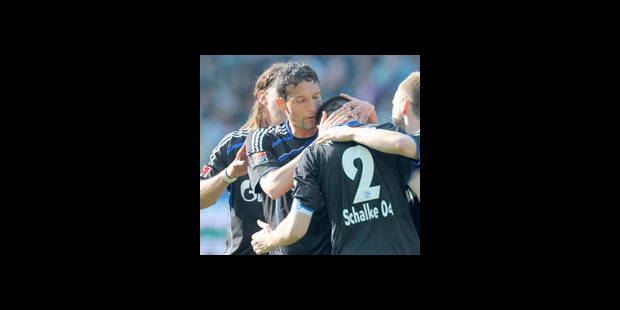 Allemagne : Schalke 04 revient à la hauteur du Bayern Munich - La DH