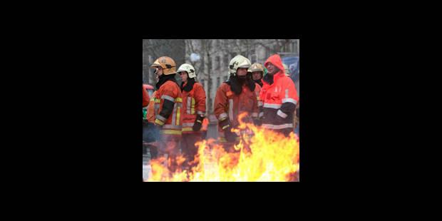 """Liège: les pompiers réclament la reconnaissance de """"métier à risques"""" - La DH"""