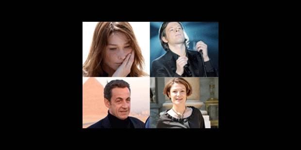Carla Bruni aurait une liaison avec Benjamin Biolay, Sarkozy avec sa Secrétaire d'Etat !