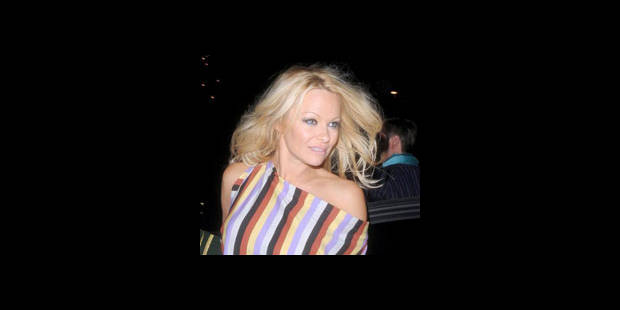 Pamela Anderson méconnaissable