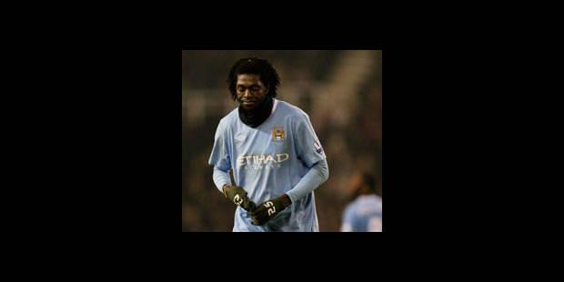 Manchester City: Adebayor suspendu quatre matches - La DH