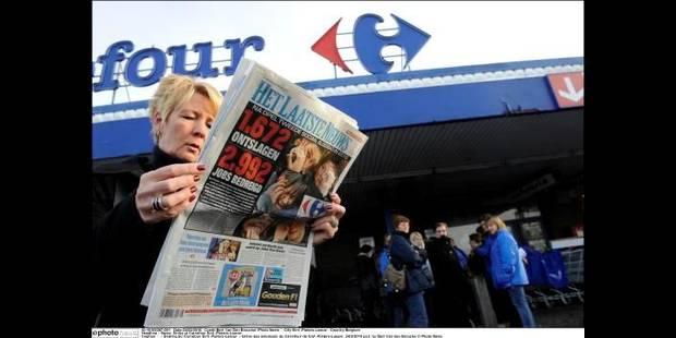 Carrefour: mouvement bien suivi