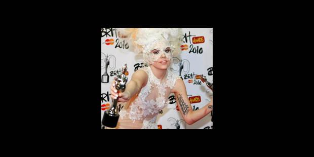 Lady Gaga triomphe aux Brit awards 2010