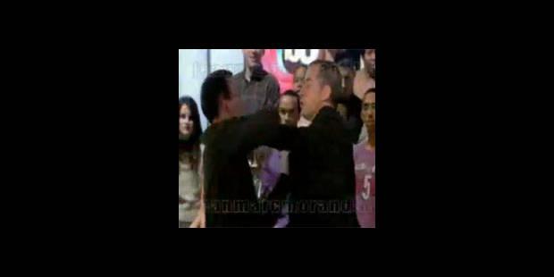 Christophe Dechavanne agressé sur son plateau (vidéo) - La DH