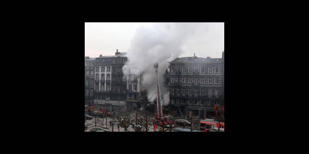 Explosion � Li�ge: on ignore le nombre d'habitants de l'immeuble