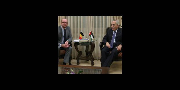 Charles Michel rencontre le Premier ministre palestinien - La DH