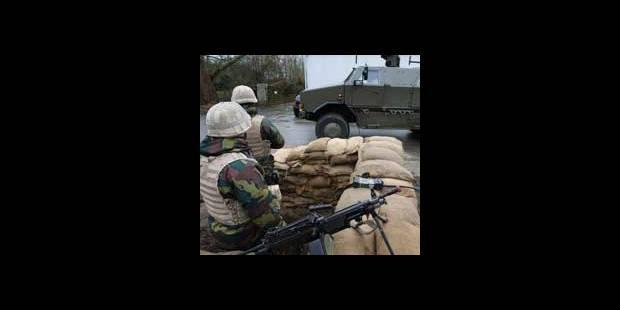 Avec les soldats afghans - La DH