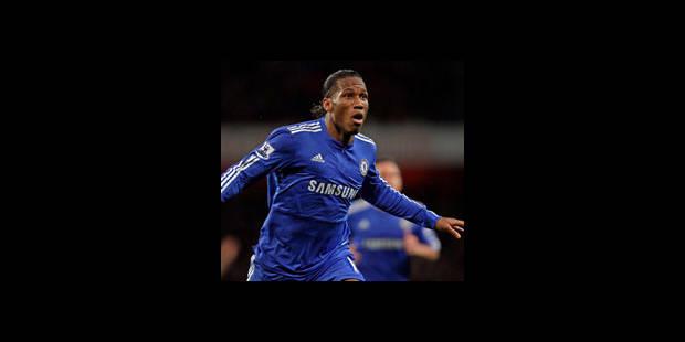 Drogba et Chelsea surclassent Arsenal - La DH