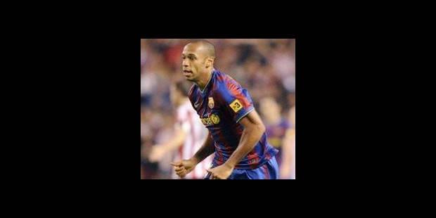 Henry officiellement centenaire avec le Barça - La DH