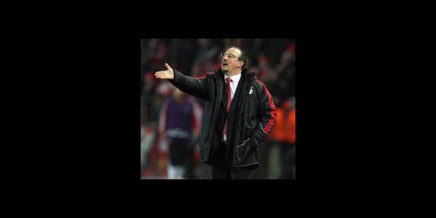 """Benitez : """"Liverpool est meilleur que ses résultats"""" - La DH"""