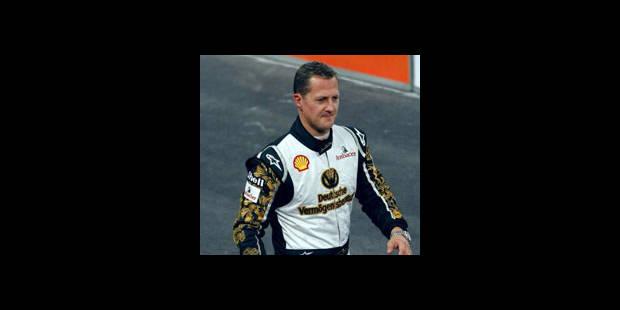 Peu de chance de voir Schumacher la saison prochaine - La DH