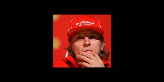Pas de F1 pour Kimi Raikkonen en 2010!