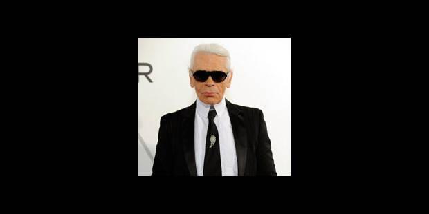 """Lagerfeld: """"personne ne veut voir des femmes rondes"""" dans la mode"""