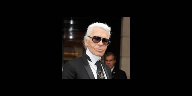Karl Lagerfeld aime les femmes minces