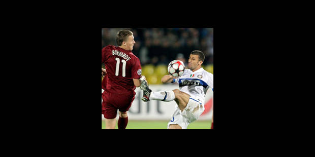 Ligue des Champions - L'Inter arrache le nul face au Rubin Kazan - La DH
