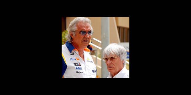 Ecclestone demande à Briatore de faire appel de sa radiation - La DH