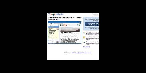 Google dévoile Sidewiki - La DH